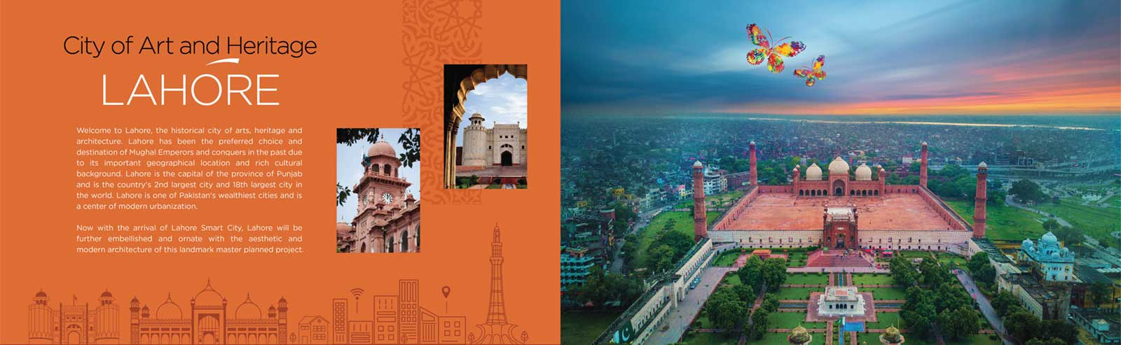 Lahore Smart city the art and Heritage